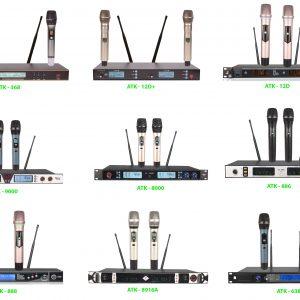 Phân phối Micro không dây cầm tay chính hãng, chất lượng cao, hát hay, bền, đẹp, siêu nhạy, giá bán buôn rẻ nhất