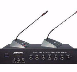 Hệ thống hội thảo Shupu EDM-6900 – Thiết bị hội thảo giá tốt