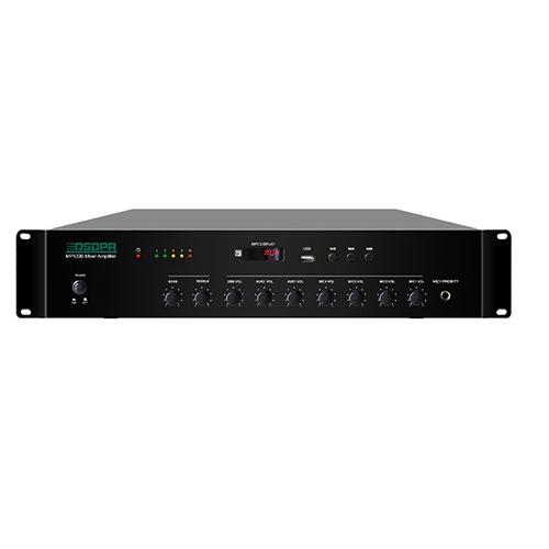Tăng âm truyền thanh AAV-MP120B-120W, tích hợp USB, chuẩn nhất