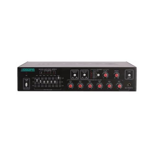 Tăng âm truyền thanh 120W AAV-MP6912, bộ cân bằng Equalizer, cao cấp