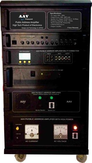 Tăng âm truyền thanh VPA-1000-sản phẩm đứng đầu về chất lượng và kiểu dáng