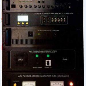 Tăng âm truyền thanh 500W AAV PA-500 đa năng, giá rẻ