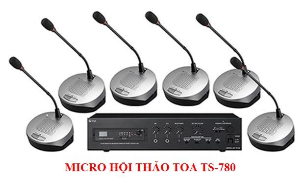 Hệ thống hội thảo Toa TS-780 chính hãng, giá tốt nhất
