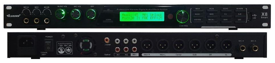 Vang số, vang karaoke TK V-200 Plus cao cấp, chuyên nghiệp